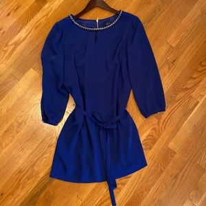 Tahari Royal Blue Dress (Size: 12P) 💙